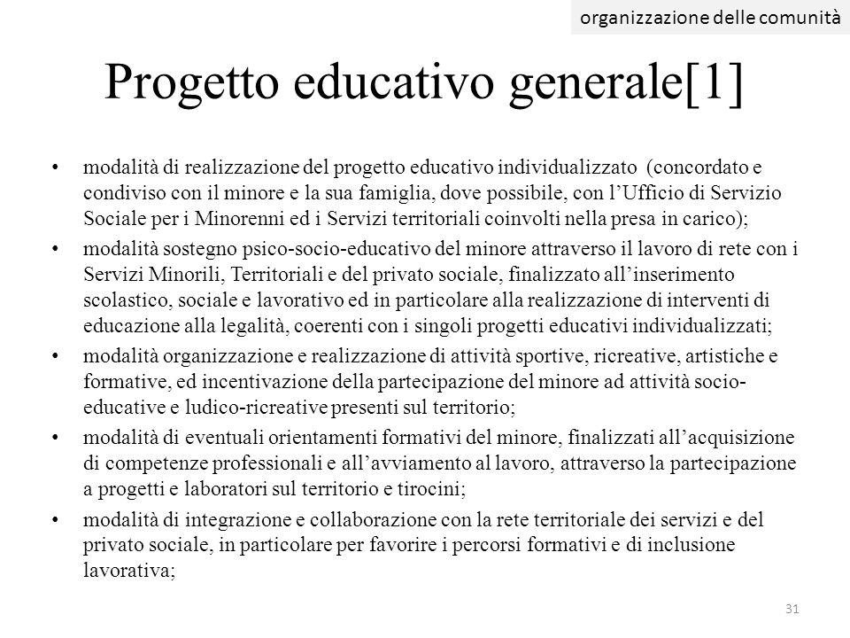 Progetto educativo generale[1]
